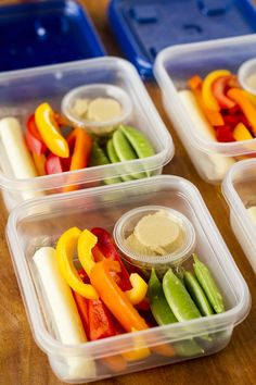 This easy veggies and hummus snack idea is the ideal meal prep snack for on-the-go families! Perfect to tote along to the pool or sports...