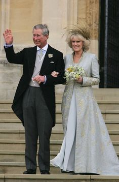 Prins Charles en Camilla Parker Bowles, 9 april 2015 in Philip Treacy Royal Wedding Gowns, Civil Wedding, Royal Weddings, Wedding Bride, Wedding Ceremony, Camilla Parker Bowles, Meghan Markle, Priyanka Chopra Wedding, Camilla Duchess Of Cornwall