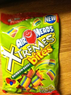 Air Heads Xtreme Bites look good. Yummy Snacks, Snack Recipes, Yummy Food, Airheads Candy, Junk Food Snacks, Rainbow Candy, Food Now, Sour Candy, Favorite Candy