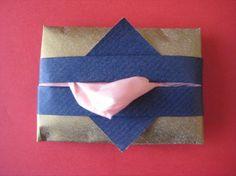 DIY  Tissue Holder  : DIY fold a cute origami tissue holder