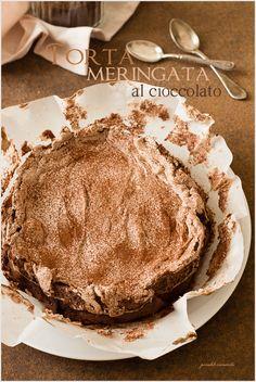 Chocolate meringue cake - Donna Hay