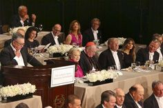 Donald Trump Heckled by New York Elite at Charity Dinner, At the Alfred E. Smith memorial event, a white-tie campaign-year ritual at the Waldorf