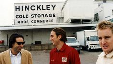 People who just get me: Wes Anderson. (production shot from Bottle Rocket)