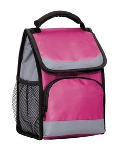 Joe's USA Insulated Lunch Cooler Bags - All Colors (Pink/Grey) * See this great product.
