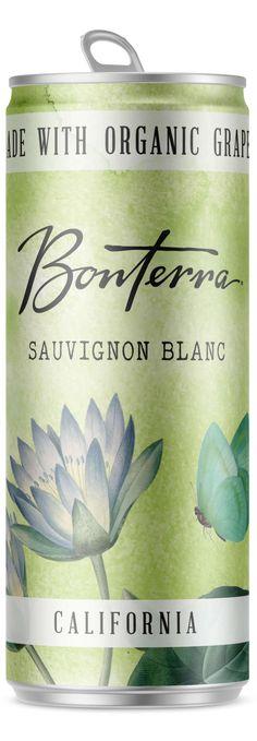 Sauvignon Blanc Cans | Bonterra Organic Vineyards Sauvignon Blanc, Wines, Vineyard, Organic, Canning, Food, Products, Vine Yard, Essen