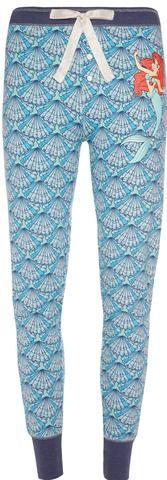 Primark Little Mermaid PJ Bottoms Disney Ariel Women's Ladies UK Sizes 6 - 20