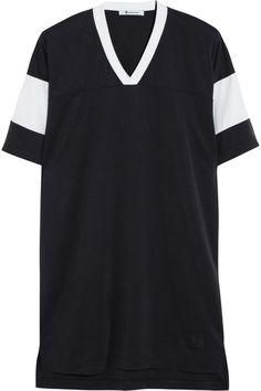 T By Alexander Wang oversized shirt dress #alexanderwang #alexander #wang #dress #tshirt