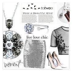"""TOTWOO GLOBAL LAUNCH - FIRST TIME EVER ON POLYVORE TO WIN A REAL PIECE OF EXPENSIVE JEWELRY"" by black-fashion83 ❤ liked on Polyvore featuring Topshop, Gianvito Rossi, Heidi Swapp, totwoo and smartjewelry"
