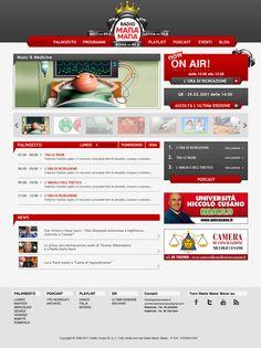 Cliente: Radio manà Manà  Progetto: sito web istituzionale - sezione progetti