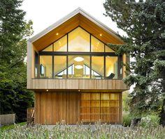 modernes einfamilienhaus holz satteldach - Google-søk