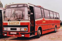 'PARAMOUNTS' - In 1983 Barton Transport took delivery of a batch of new Plaxton Paramount bodied Leyland Tigers, represented on this photo by fleet number 619