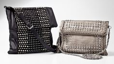 I need purses.. the studs are too cute!