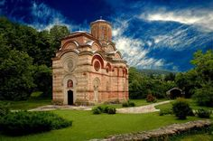 Not really a castle.  Monastery Kalenic in Serbia built in the 15th century,