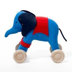 Elephant Pull Toy by Acorn