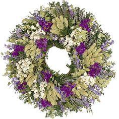 herb lavender wreath