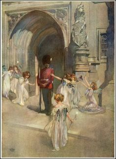 "william russell flint illustration for ""Iolanthe"""