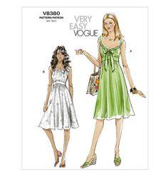 V8380 | Misses' Dress | Very Easy Vogue | Vogue Patterns