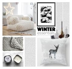 """""""Get The Style: Winter Essentials"""" by artbyjwp ❤ liked on Polyvore featuring interior, interiors, interior design, home, home decor, interior decorating, PBteen, Serena & Lily and Incipit"""