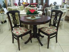 Элегантные столы и стулья для гостиной и обеденной зоны