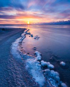 Ohtakari sunset (Finland) by Jari Ehrström / 500px