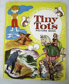 Tiny Tots Picture Book 1962 Mother GOOSE Rhymes Marguerite de Angeli