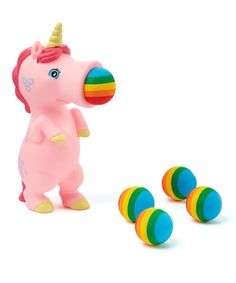 Look at this Pink Unicorn Popper on #zulily today!