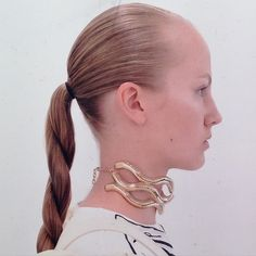 Is the Twisted Ponytail the New Topknot? Why J.W.Anderson's Runway Hair Is a Hit