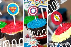 My oldest son wanted a superhero birthday party. This party was full of fun ideas. Superhero Cake, Superhero Birthday Party, Star Wars Birthday, Star Wars Party, Lego Cake, Cake Minecraft, Minecraft Houses, Craft Party, Diy Party