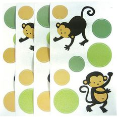 Get Mod Pod Pop Monkey Wall Decals On Today At Your Local Compare Prices