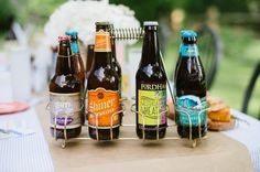 How To Throw A Beer-Tasting Party | theglitterguide.com Some food ideas & table decorating ideas