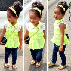 Little girl fashion so cute I would love to have that!!!!!!