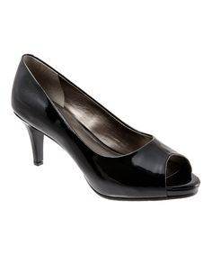 Love this Trotters Black Patent Olivia Pump by Trotters on #zulily! #zulilyfinds