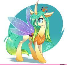 mlp art,my little pony,Мой маленький пони,фэндомы,Queen Chrysalis,Королева Крисалис,minor