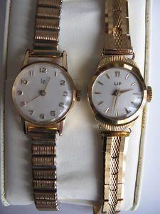 lot 407, 2 montres mécaniques anciennes vintage LIP, fonctionnent bien | eBay