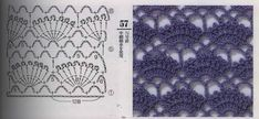 Stitch pattern, Crochet de Moda ~ the recommended blog address doesn't seem very productive, can't even find it.