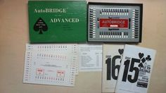 Vintage Auto Bridge Deluxe Model Advanced Set Course 15 & 16 from 1957 BX3