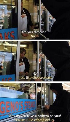 He just likes cheesesteaks this is literally my favorite calum moment in history