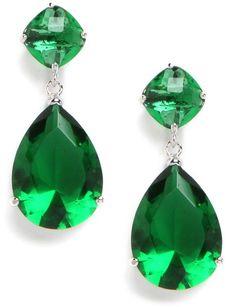 Baublebar Green Emerald Drops