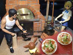 堅。離地城: 【有片】日網民自製迷你烤爐 整出話題薄餅
