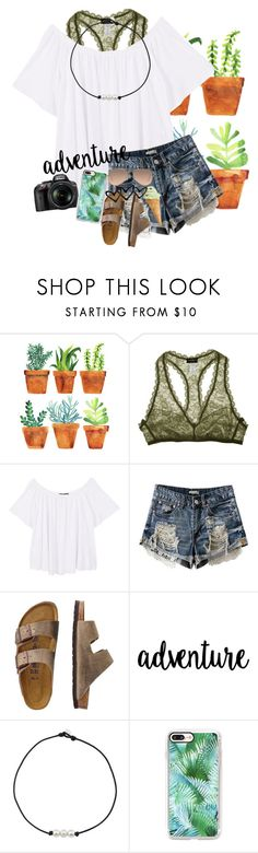 """Succulent/ RTD"" by mckenna1 ❤ liked on Polyvore featuring Cosabella, MANGO, TravelSmith, Nikon, Casetify, Ray-Ban and Summer"