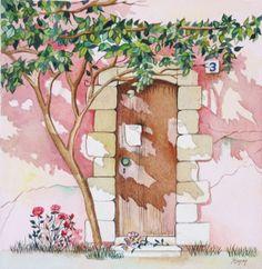 """Pomm Original Watercolor & Oil Painting Gallery """"Season's of Love"""" #2"""