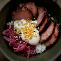 charsiu rice bowl