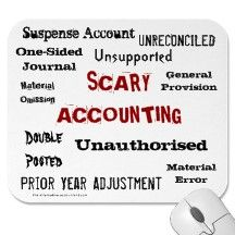 Scary Accounting - haha, not-so-proud to say I can relate to some of these now.