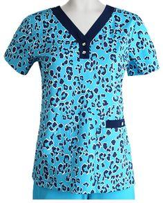 {XS} Women's Medical Uniform Barco NRG Haven 3 Pocket V-Neck Scrub Top #GreysAnatomy