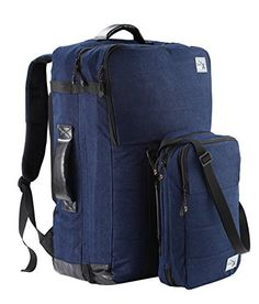 Very roomy, featuring multiple compartments that makes organizing a breeze This is very spacious with two large sections on the inside that has netted zipping panels that keeps your items neatly in place. This also comes with a detachable messenger bag perfect for your tablet. #StarReviews #Discounted