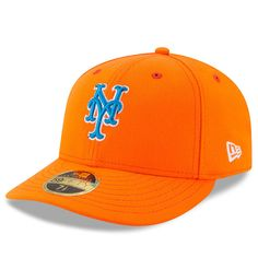 5ea79535454 Men s New York Mets New Era Orange 2017 Players Weekend Low Profile 59FIFTY Fitted  Hat