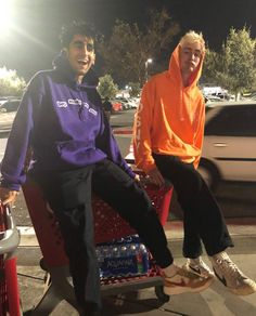 Romil and Nick brockhampton
