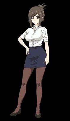 Thicc Anime, Chica Anime Manga, Manga Girl, Pretty Anime Girl, Kawaii Anime Girl, Anime Art Girl, Anime Triste, Anime Sensual, Estilo Anime