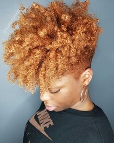 2019 Simple and Outstanding Natural Hairstyles - Naija's Daily Natural Tapered Cut, Tapered Natural Hair, Curly Hair Styles, Natural Hair Styles, Mohawk Styles, Tapered Haircut, Queen Hair, Natural Hair Journey, Natural Life