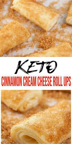 Keto Cream Cheese Recipe Tasty & easy low carb keto cinnamon cream cheese recipe w/ this roll up recipe. Quick & yummy filled cinnamon roll ups for simple keto breakfast, keto snacks or k Keto Desserts Cream Cheese, Healthy Cream Cheese, Cream Cheese Recipes, Keto Cheese, Low Carb Desserts, Low Carb Recipes, Cinnamon Cream Cheese Roll Ups Recipe, Keto Cinnamon Rolls, Soften Cream Cheese
